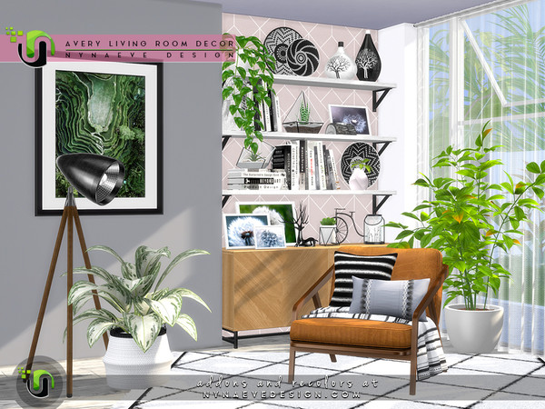 Avery Living Room Decor by NynaeveDesign