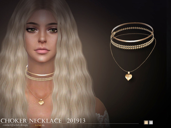 S-Club ts4 LL Necklace 201913