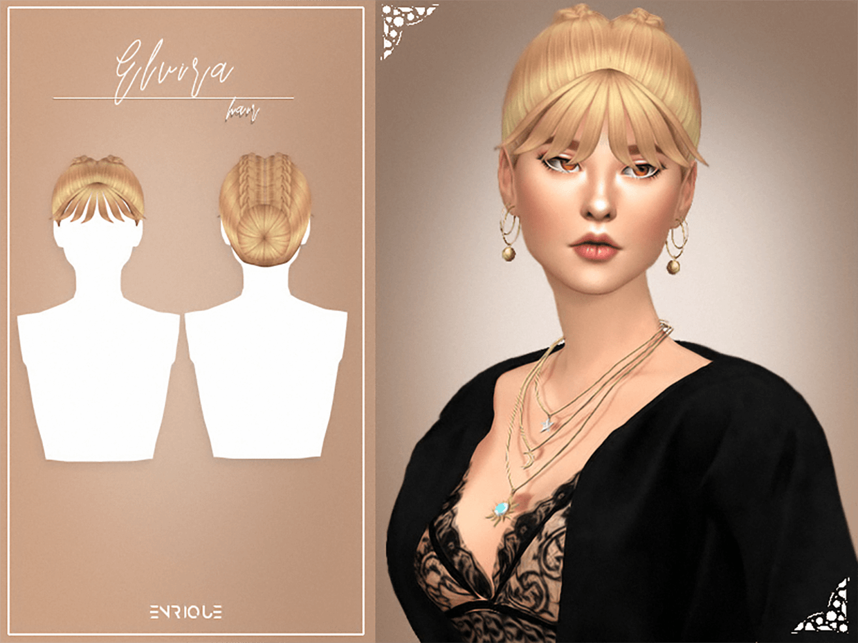 Elvira Hairstyle by Enrique