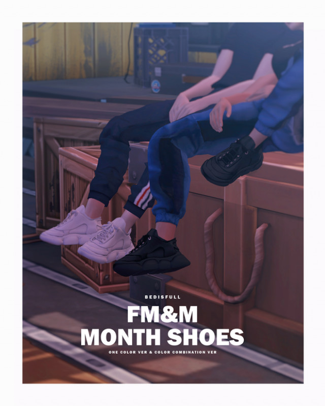 FM&M month shoes by bedisfull
