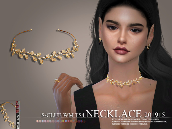S-Club ts4 WM Necklace 201915