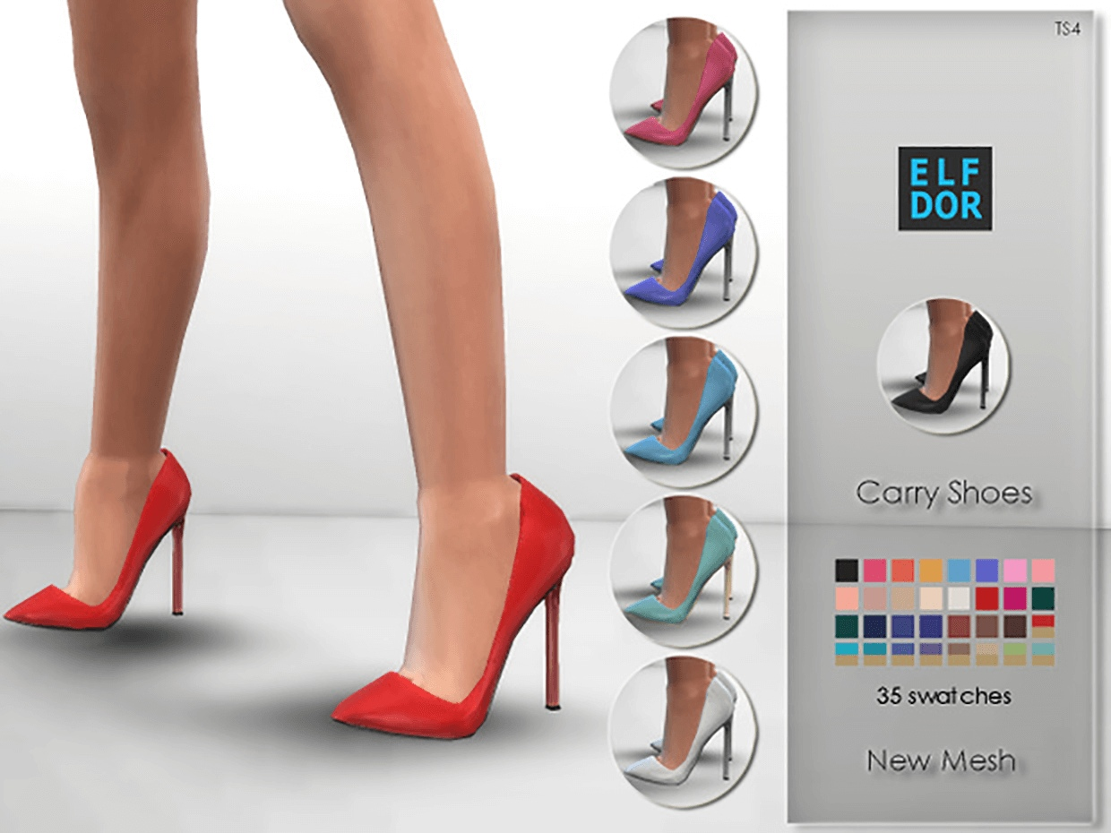Carry Shoes Slider by Elfdor