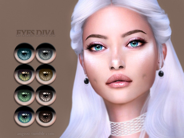 EYES-DIVA by ANGISSI