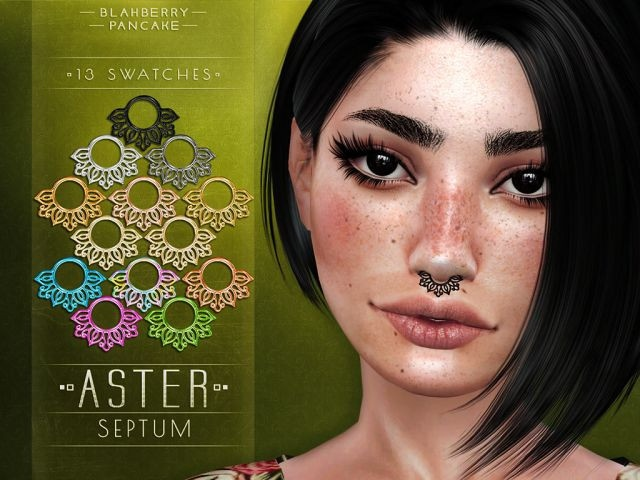 Aster Septum by Blahberry Pancake