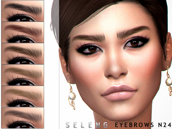 Eyebrows N24 by Seleng