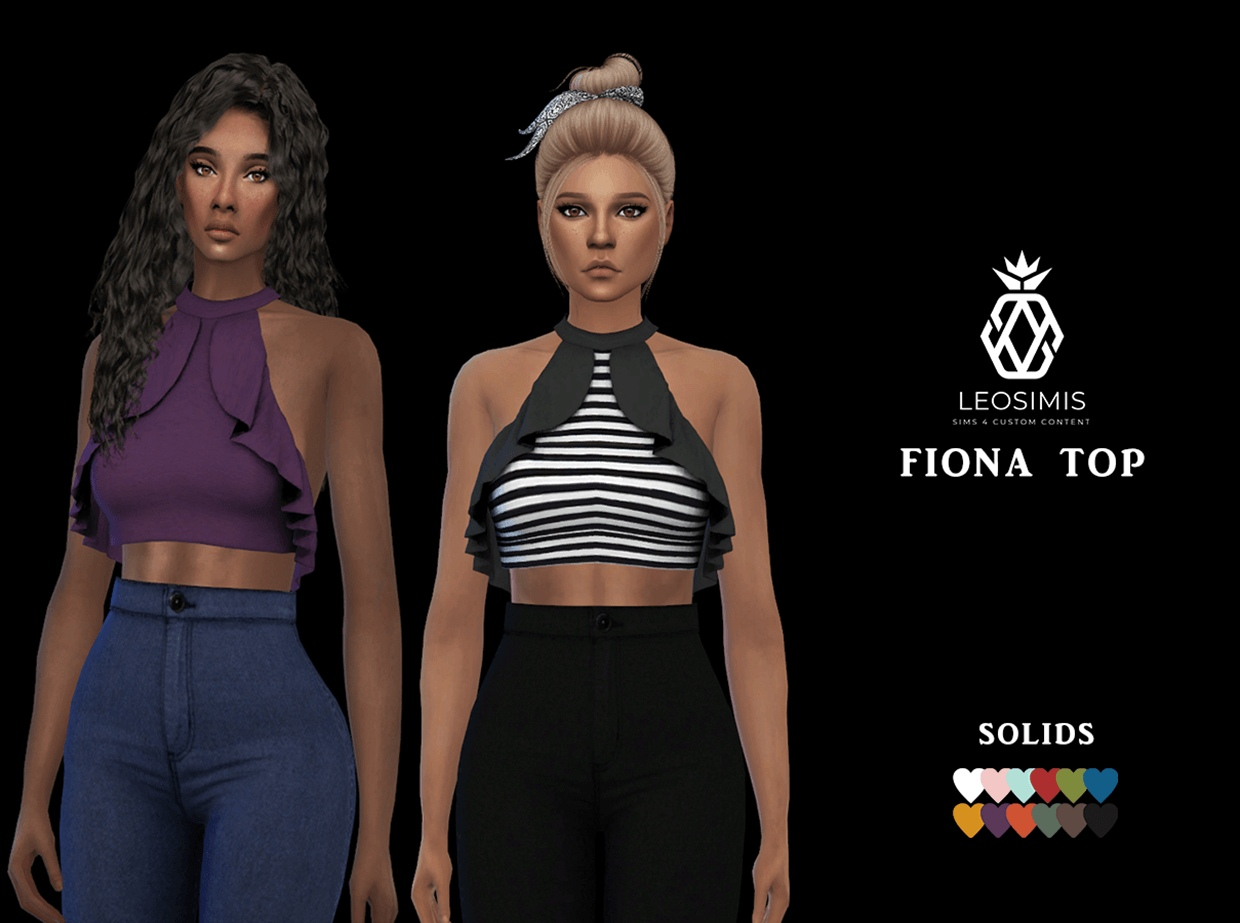 Fiona top by Leo-Sims