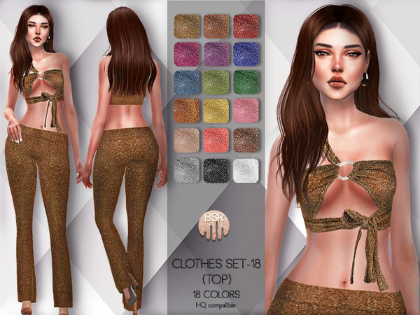 Clothes SET-18 (TOP) BD82 by busra-tr