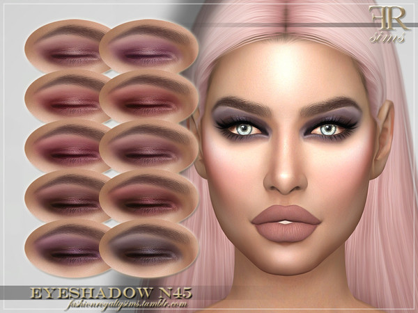 FRS Eyeshadow N45 by FashionRoyaltySims
