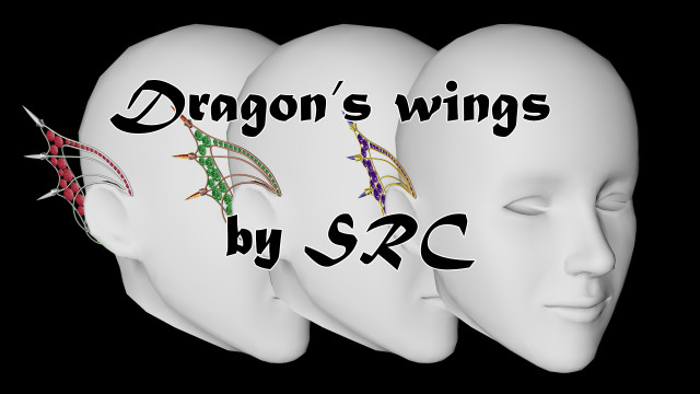 Dragon's wings by SRC