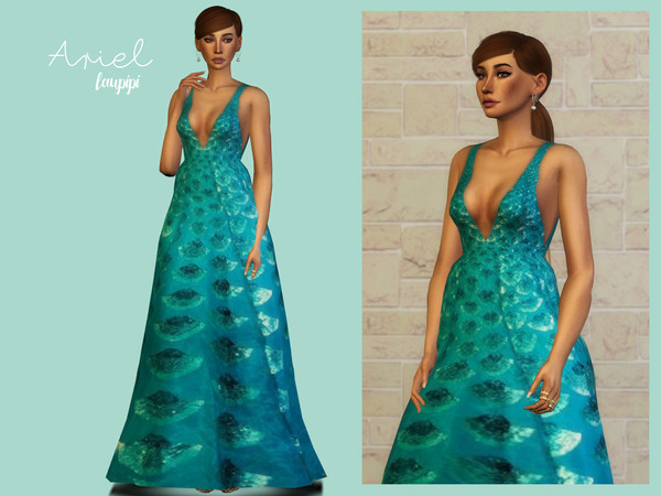 Ariel Gown by laupipi