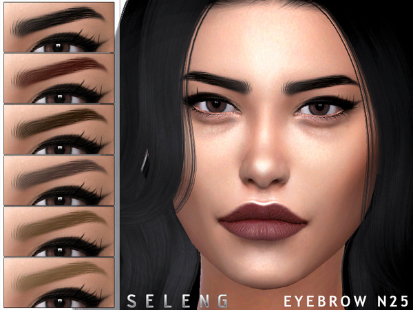 Eyebrows N25 by Seleng