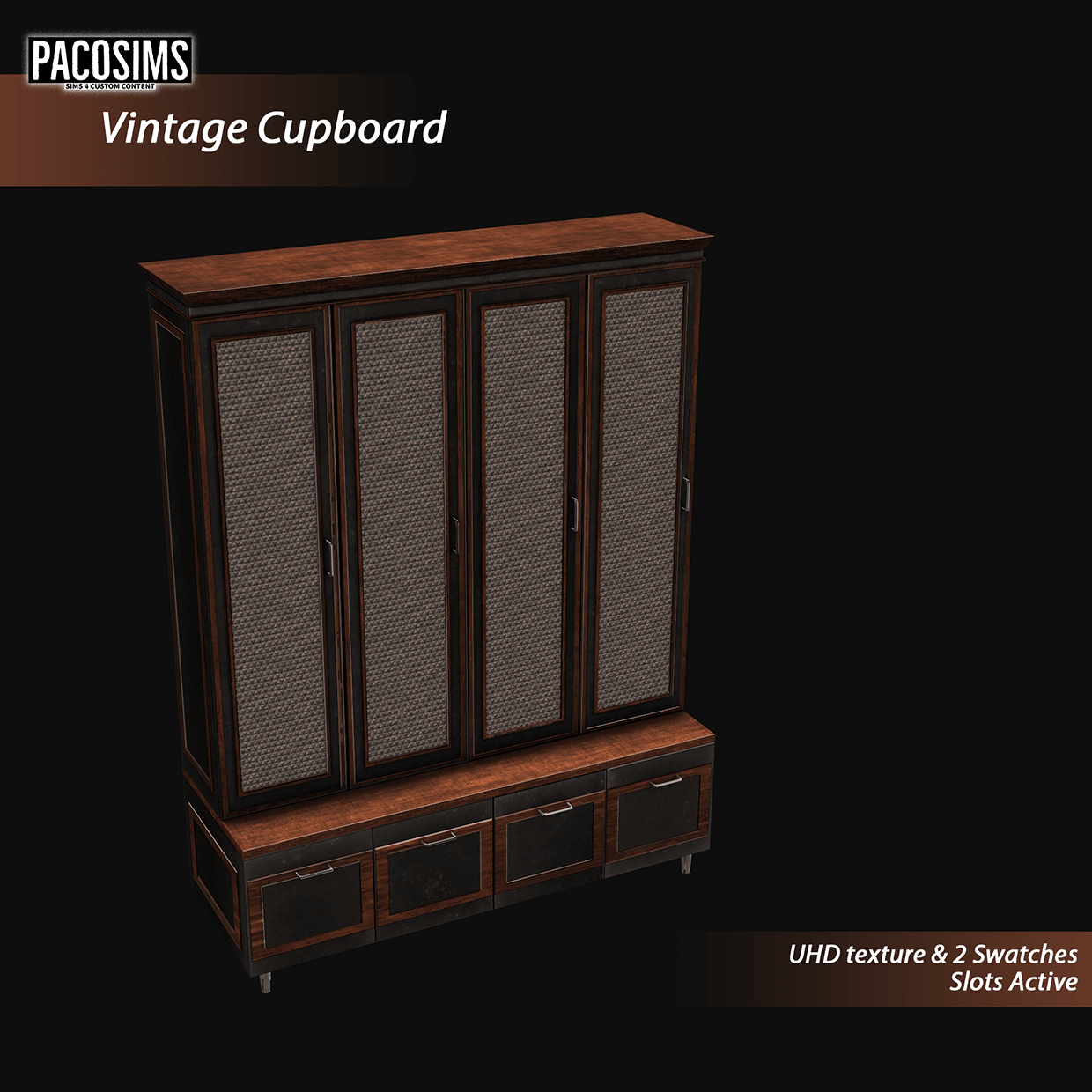 Vintage cupboard by PacoSims