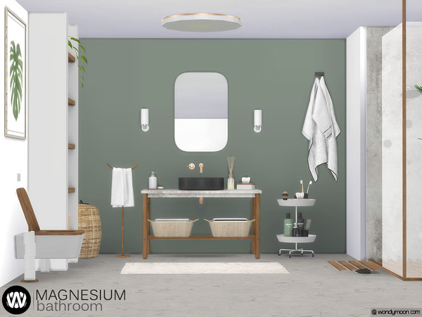 Magnesium Bathroom by wondymoon