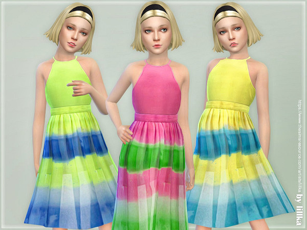 Girls Dresses Collection P130 by lillka