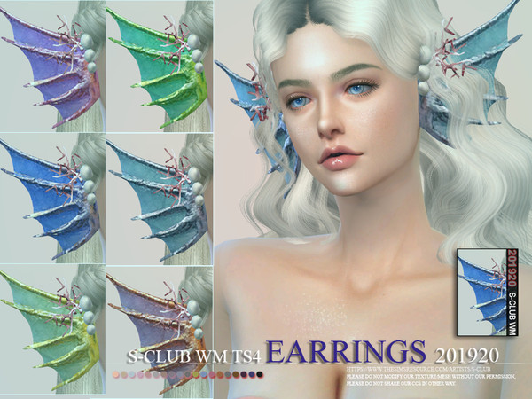 S-Club ts4 WM EARRINGS 201920