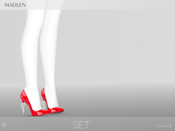 Madlen Set Shoes by MJ95