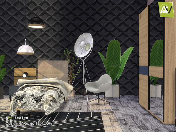 Quentin Young Bedroom by ArtVitalex