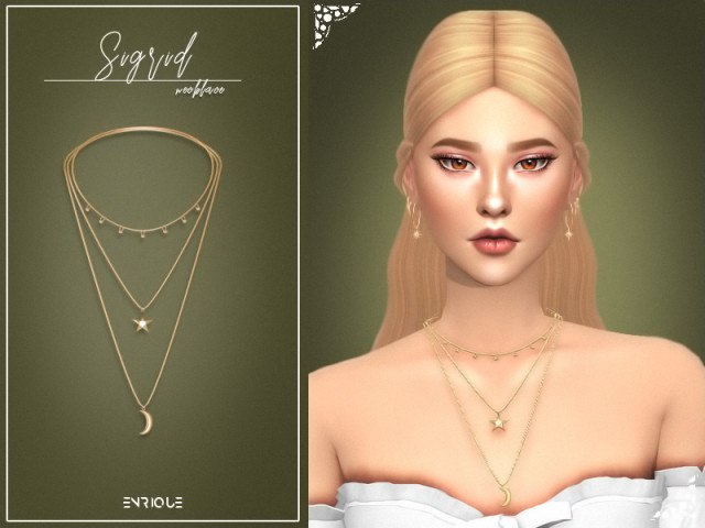 Sigrid Necklace by Enrique