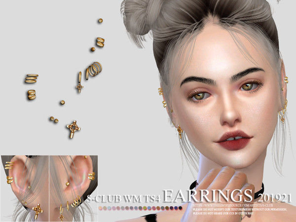 S-Club ts4 WM EARRINGS 201921
