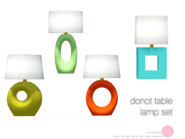 Donot Table Lamp Set by DOT