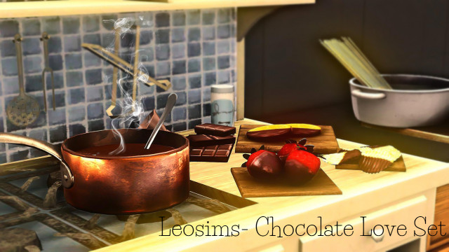 Leosims Chocolate Love Set by Simerelli