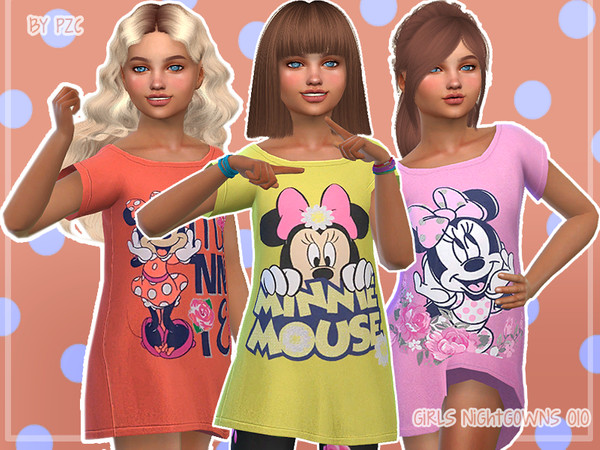 Nightgowns For Girls 010 by Pinkzombiecupcakes