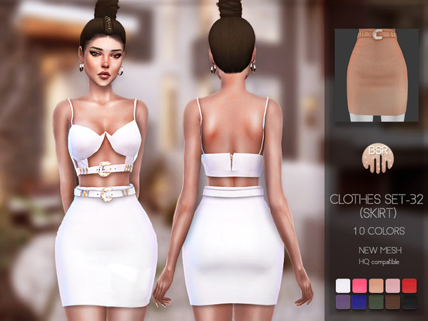 Clothes SET-32 (SKIRT) BD127 by busra-tr