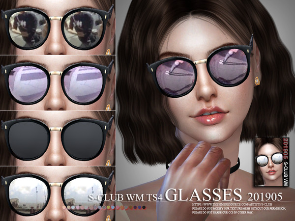 S-Club ts4 WM Glasses 201905