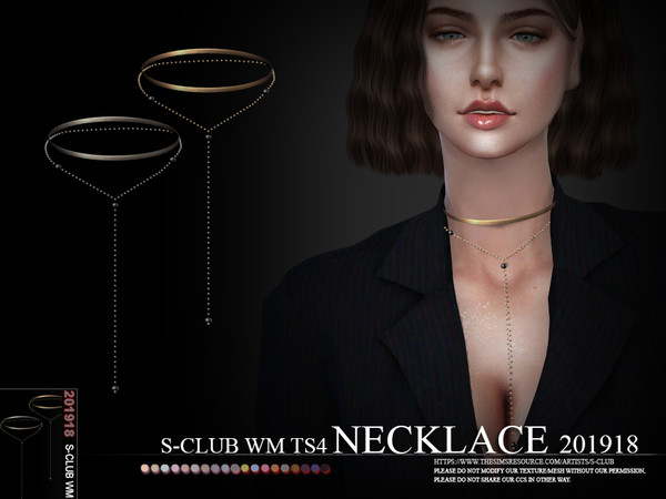 S-Club ts4 WM Necklace 201918