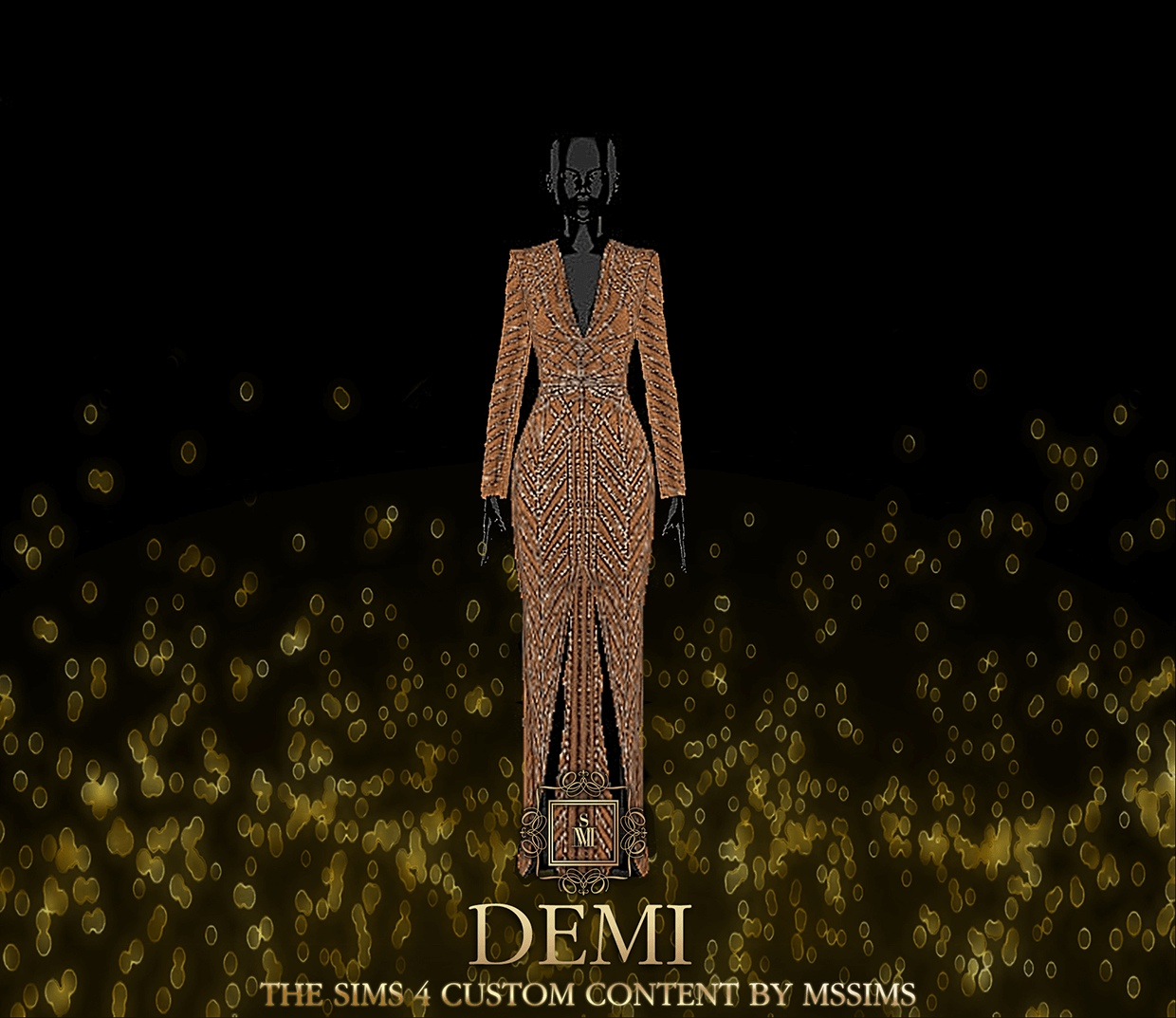 Demi Gown by MSSIMS