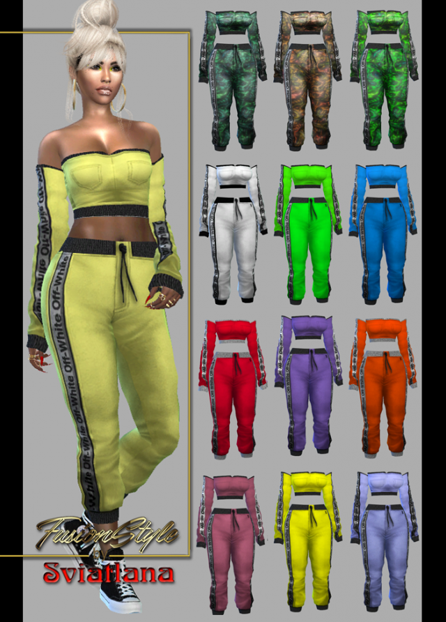Short sleeve top - FusionStyle by Sviatlana