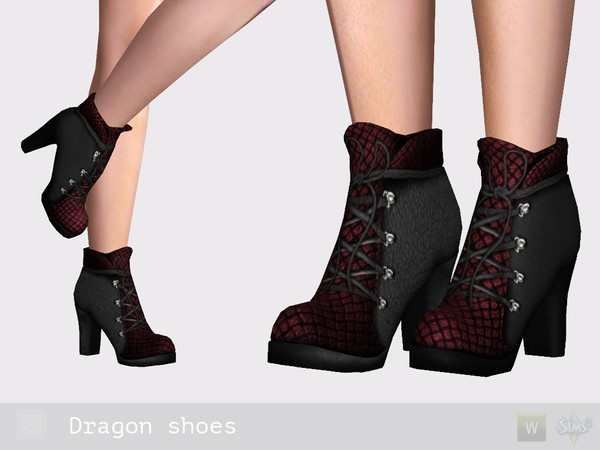 Dragon shoes by Shushilda