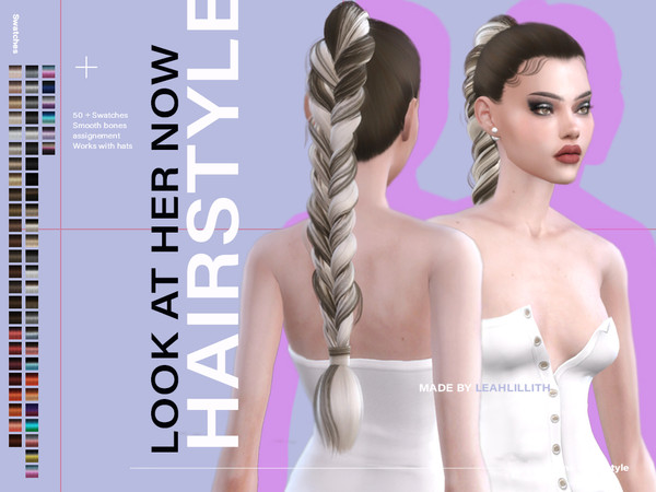 Look At Her Now Hairstyle by Leah Lillith