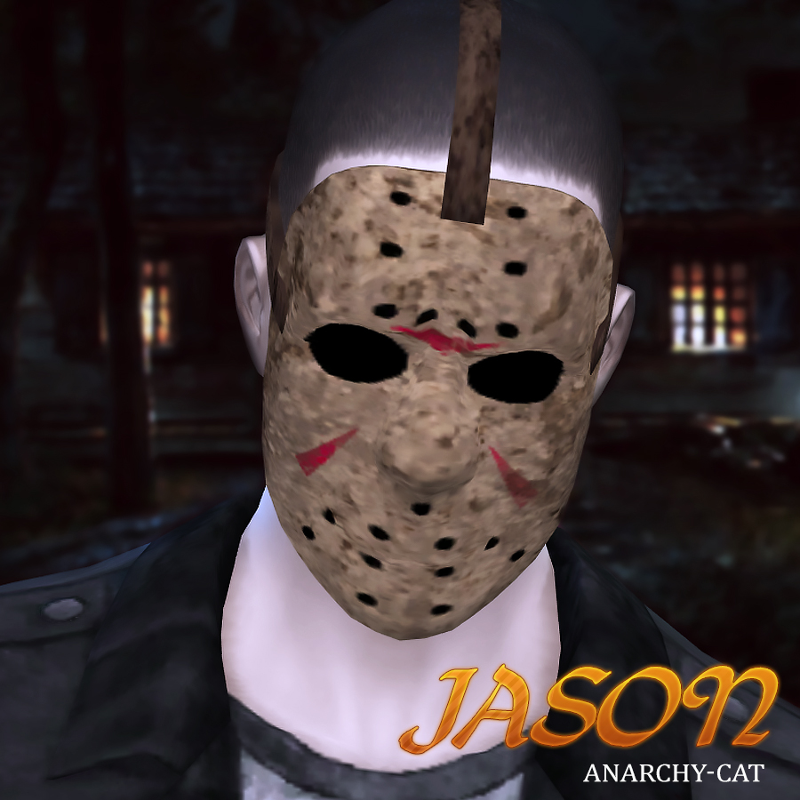 Jason Voorhees by Anarchy-Cat