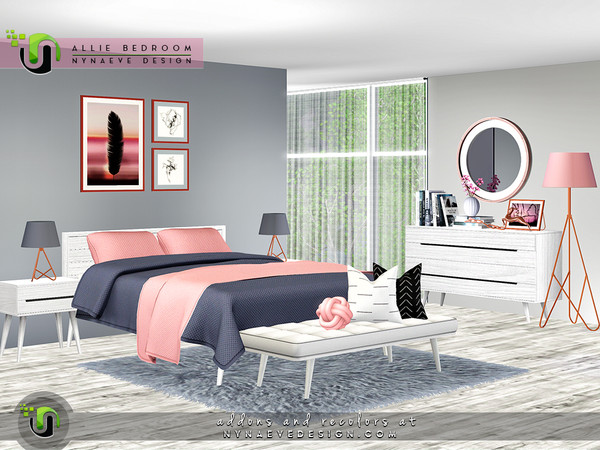 Allie Bedroom by NynaeveDesign