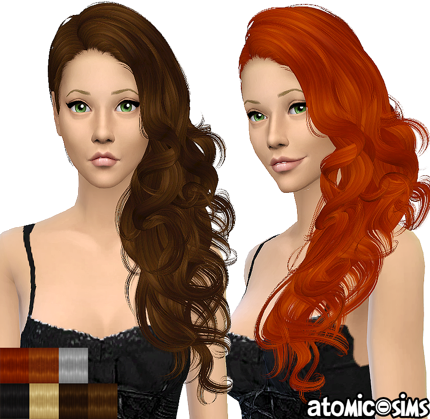 Newsea J139 Bitter Sweet simgarooped retextured by Atomic-sims