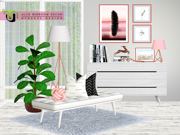 Allie Bedroom Decor by NynaeveDesign
