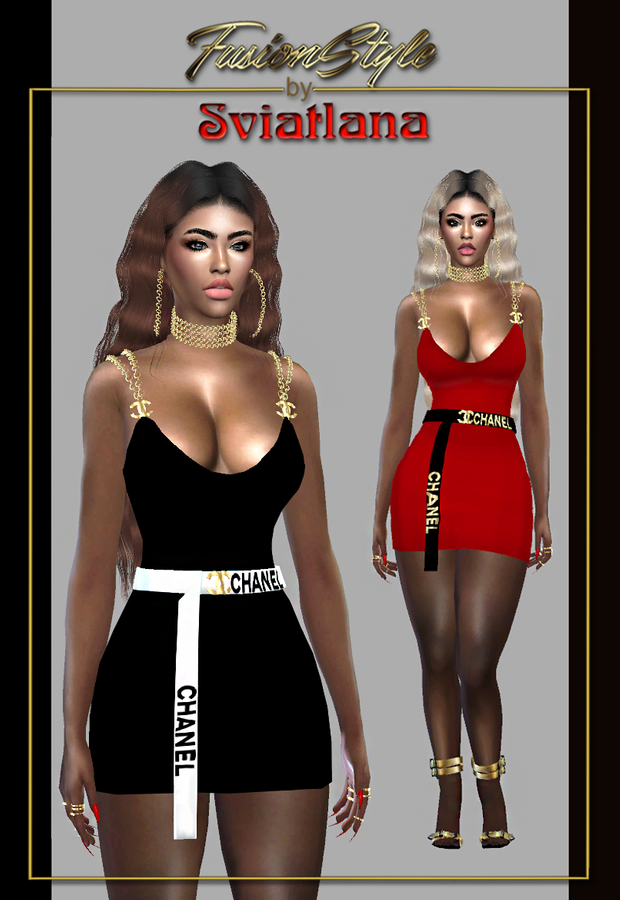 Cocktail Dress CHANEL - Fusionstyle by Sviatlana