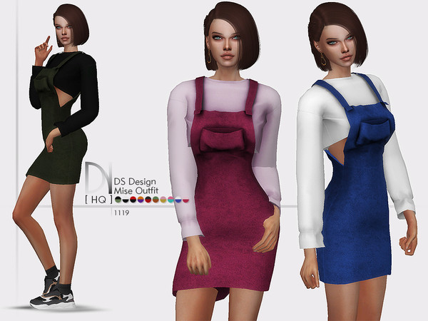 DS Design Mise Outfit by DarkNighTt