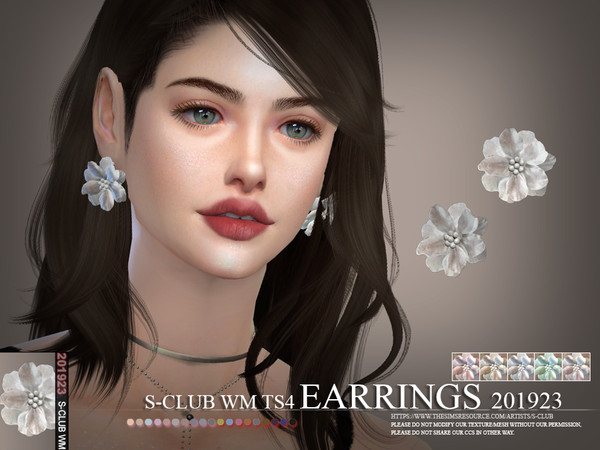 S-Club ts4 WM EARRINGS 201923