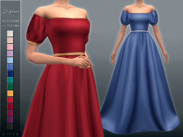 Delphine Gown by Sifix