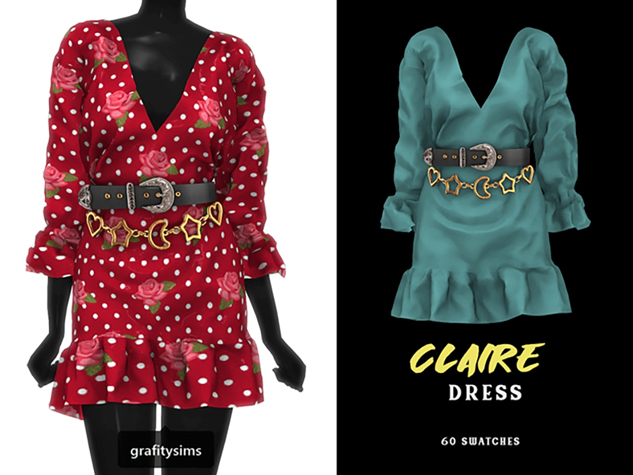 Claire Dress by Grafity-CC