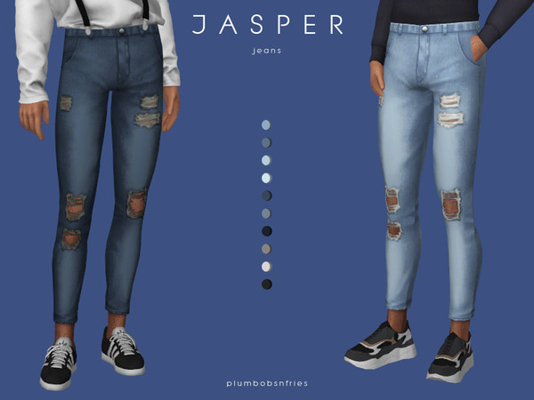 JASPER  jeans by Plumbobs n Fries