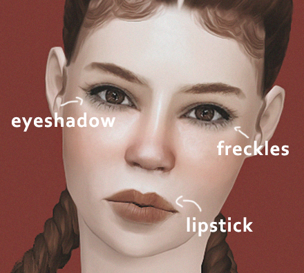 Makeup skin by erossim
