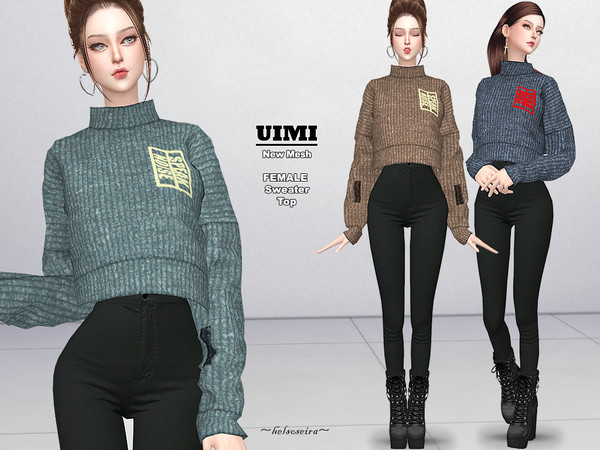 UIMI - Sweater by Helsoseira