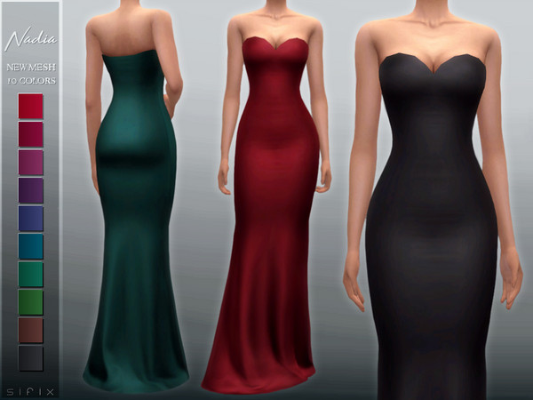 Nadia Gown by Sifix