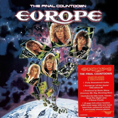 Europe - The Final Countdown / [Collector's Edition] [2019, Hard Rock, Melodic Hard Rock, MP3]