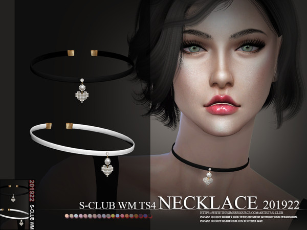 S-Club ts4 WM Necklace 201922