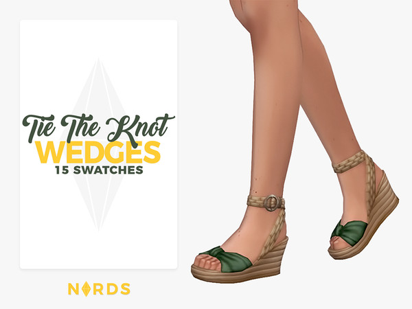 Tie The Knot Wedges by Nords