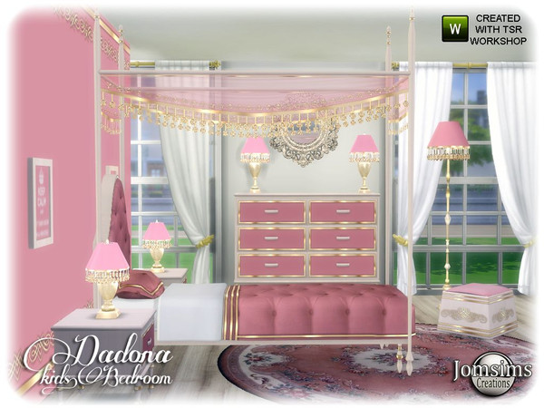 Dadona kids bedroom by jomsims